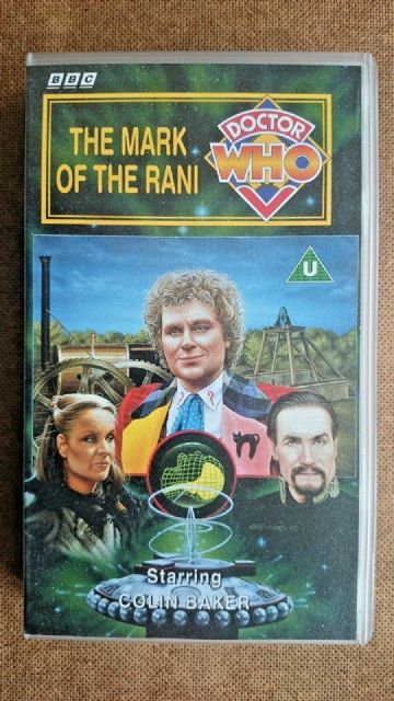 Doctor  Who The Mark of the Rani Colin Baker  New and Sealed